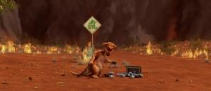 burning australia