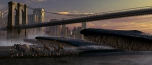 NY in the morning